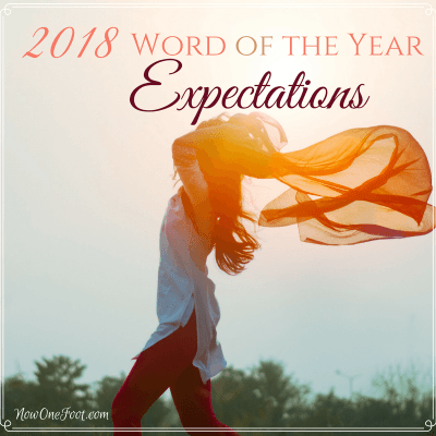 2018 Word of the Year – Expectations