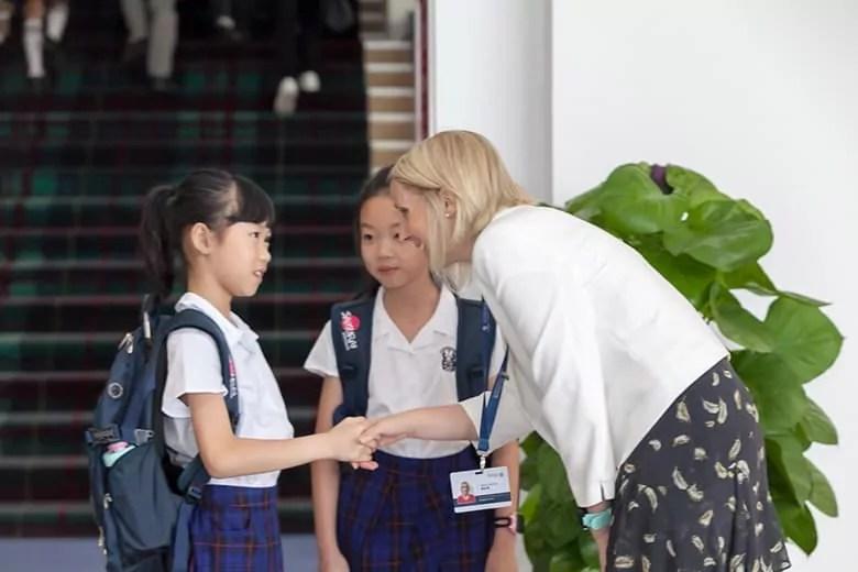 15146b962e Monday 27 August 2018, the first day of Merchiston International School.  2018年8月27日,深圳曼彻斯通城堡学校迎来首批预训新生。