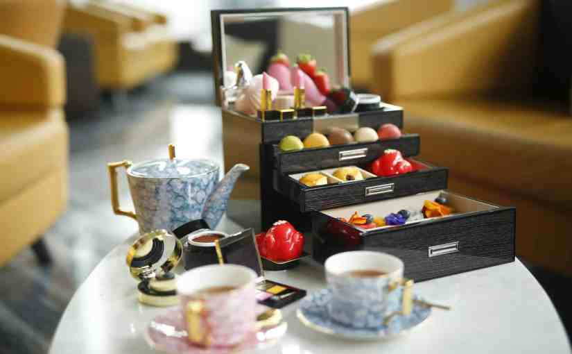Make-Up Afternoon Tea at the Wyndham Grand