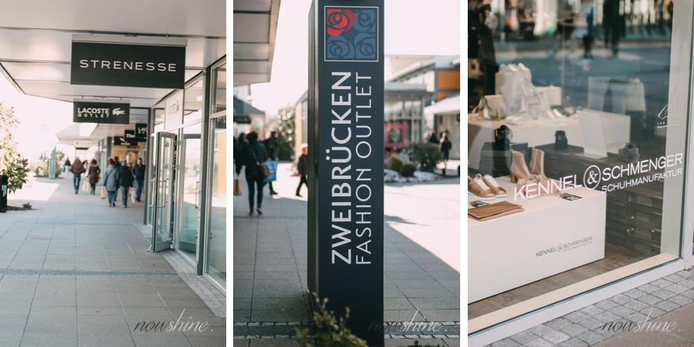Shopping im Zweibrücken Fashion Outlet - ü40 Modeblog nowshine- Erfahrungen und Tipps