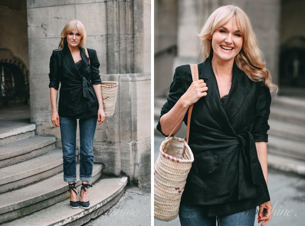 Der Klassiker Leinenblazer Trend 2018 - Nowshine Fashion ü40