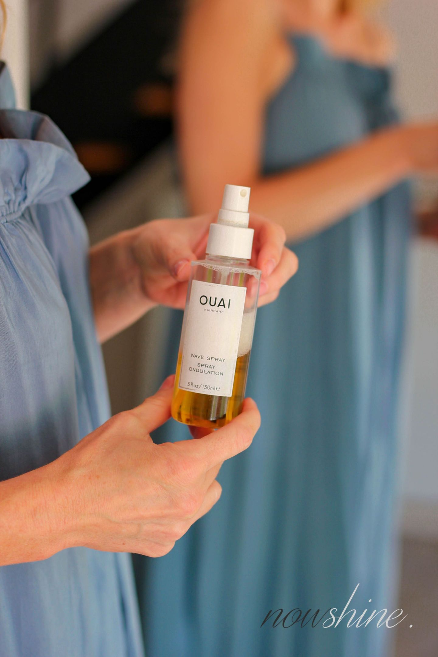 Wellen und Locken ohne Hitze - easy Beach Waves für den Sommer - The Ouai Wave Spray