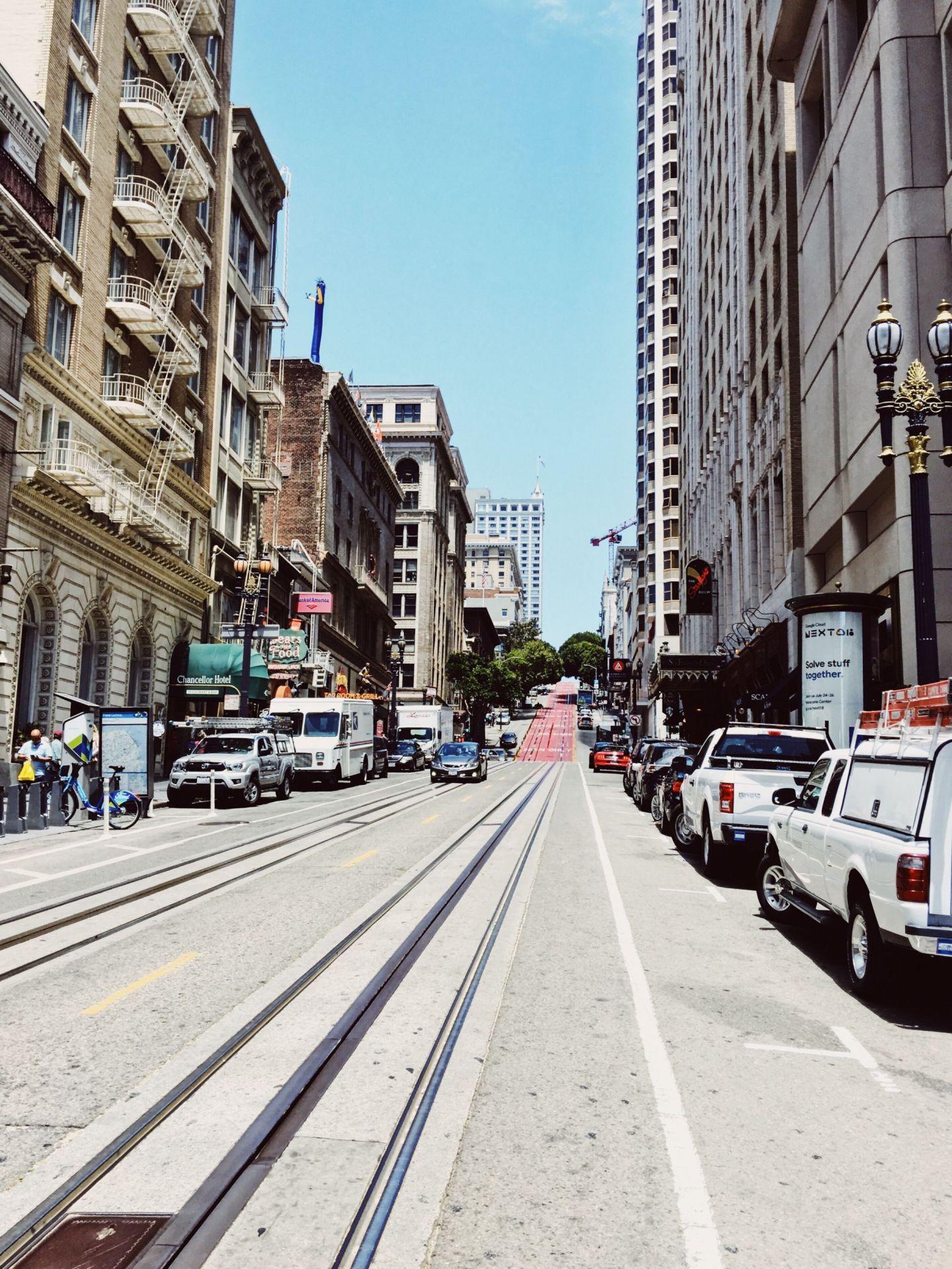 Die Marina/ Chestnut Street Gegend in San Francisco - Nowshine ü40 Reiseblog - Strassen