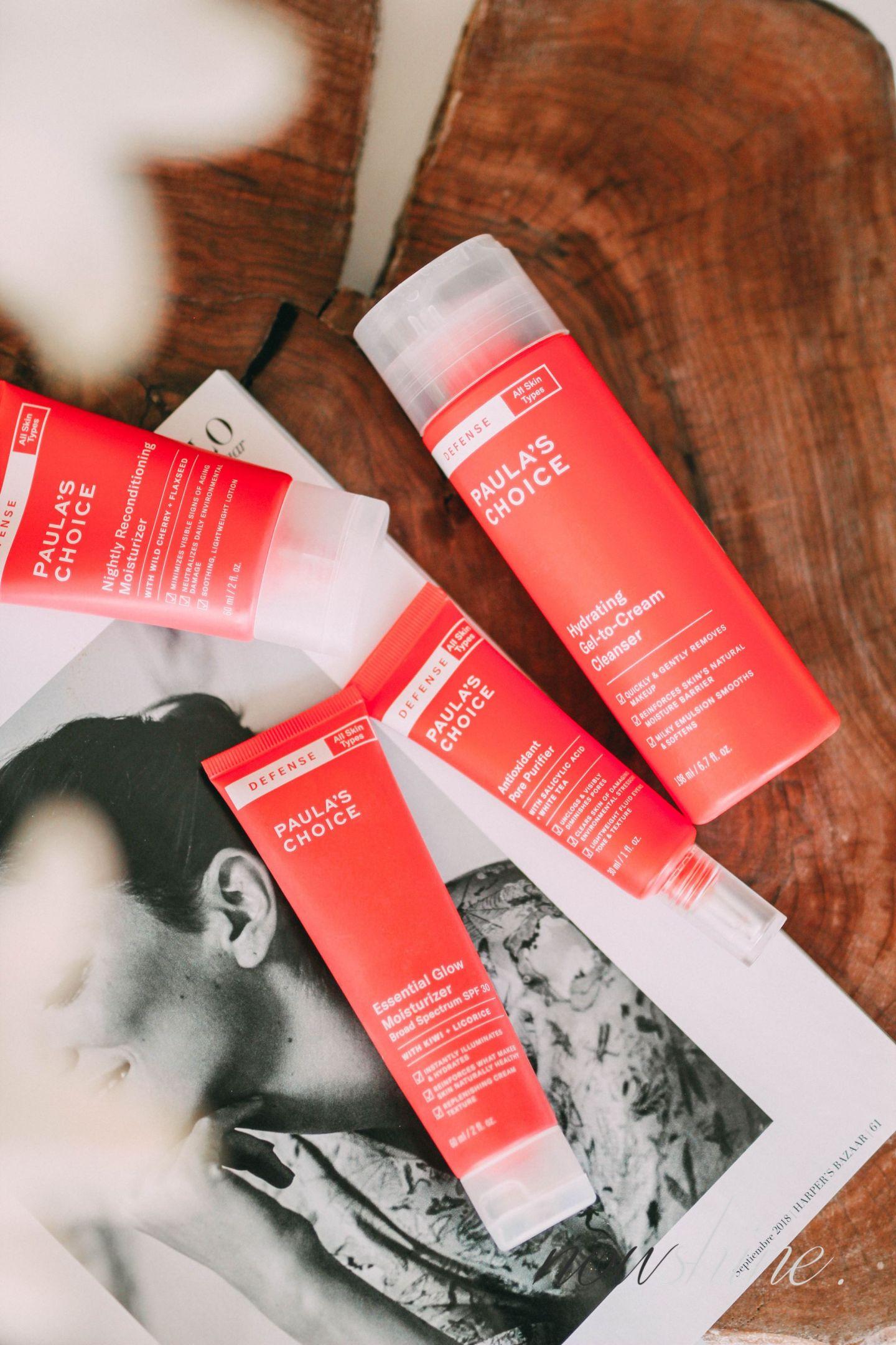 Defense Line von Paula´s Choice - Nowshine Beauty ü40 - my life, my city, my skin Kampagne Produkte