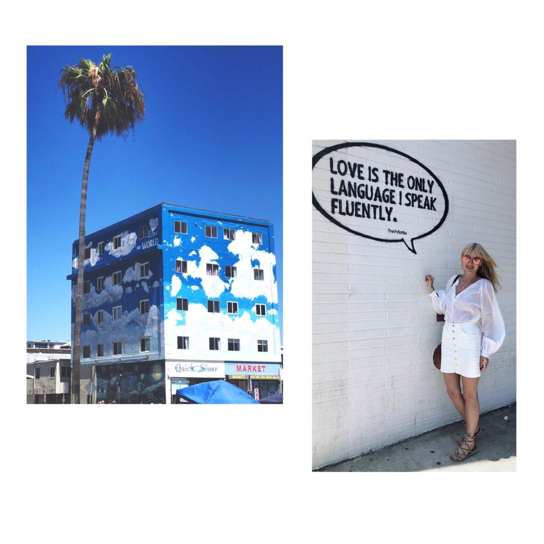 Los Angeles Tipps und Empfehlungen - Venice Beach - Streitart - Trusty Scribe - Melrose Avenue - Reiseblog ü 40