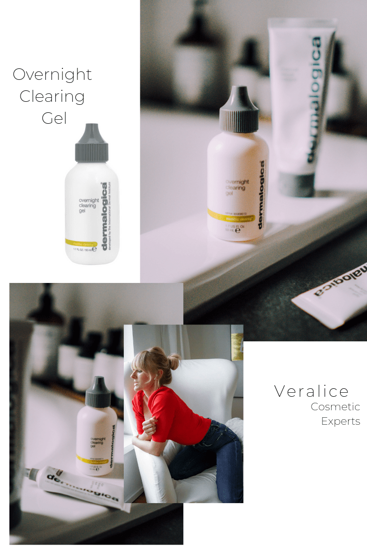 Nowshine Beauty Blog über 40 - Overnight Clearing Gel von Dermalogica Empfehlung - Veralice Cosmetic Experts