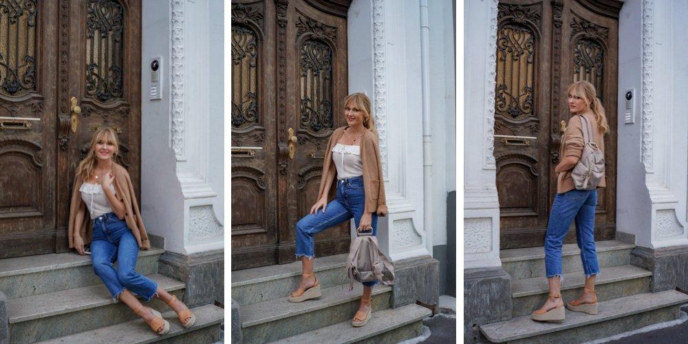 Ü 40 Blogger Nowshine - Inspiration für Frauen über 30 und 40 - Outfit des Tages