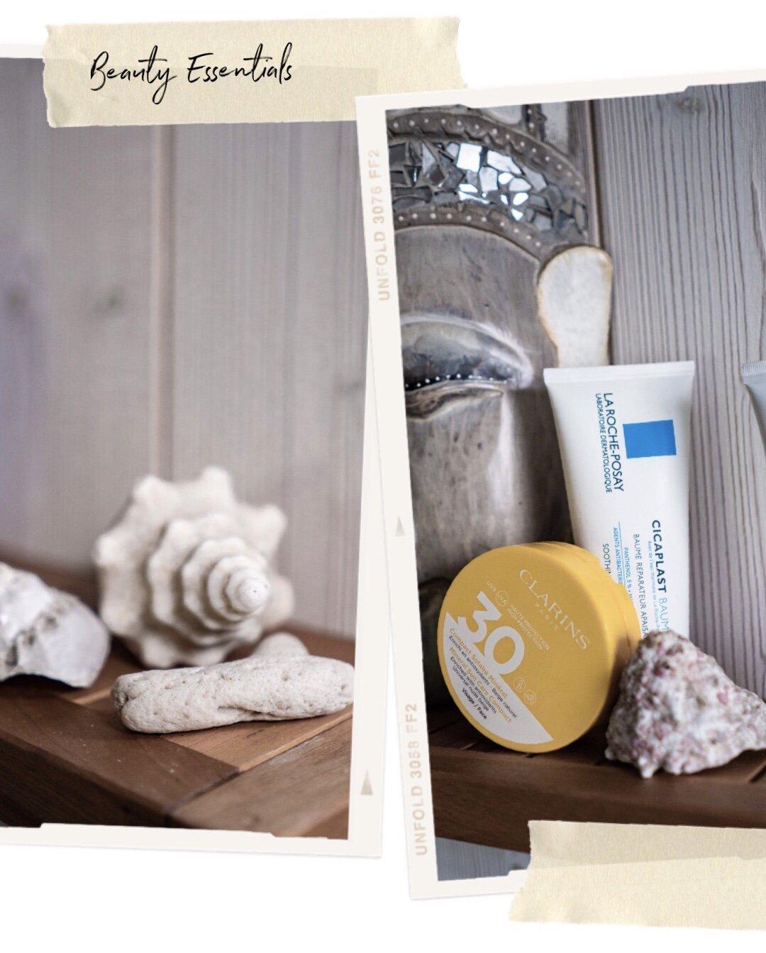 Clarins Mineral Sun Care Compact, Beauty Essentials im Urlaub, Nowshine Blog über 40