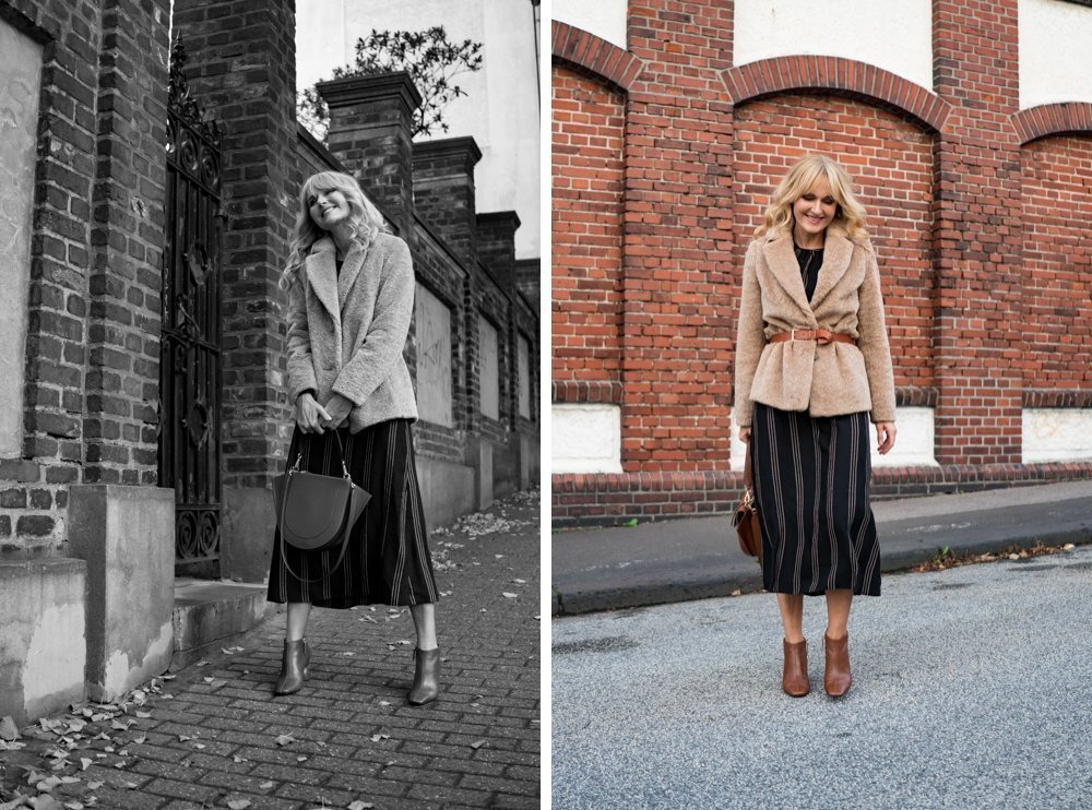 Kurze Herbstjacke zu Kleid - Nowshine Modeblog - Herbstlook Teil 2