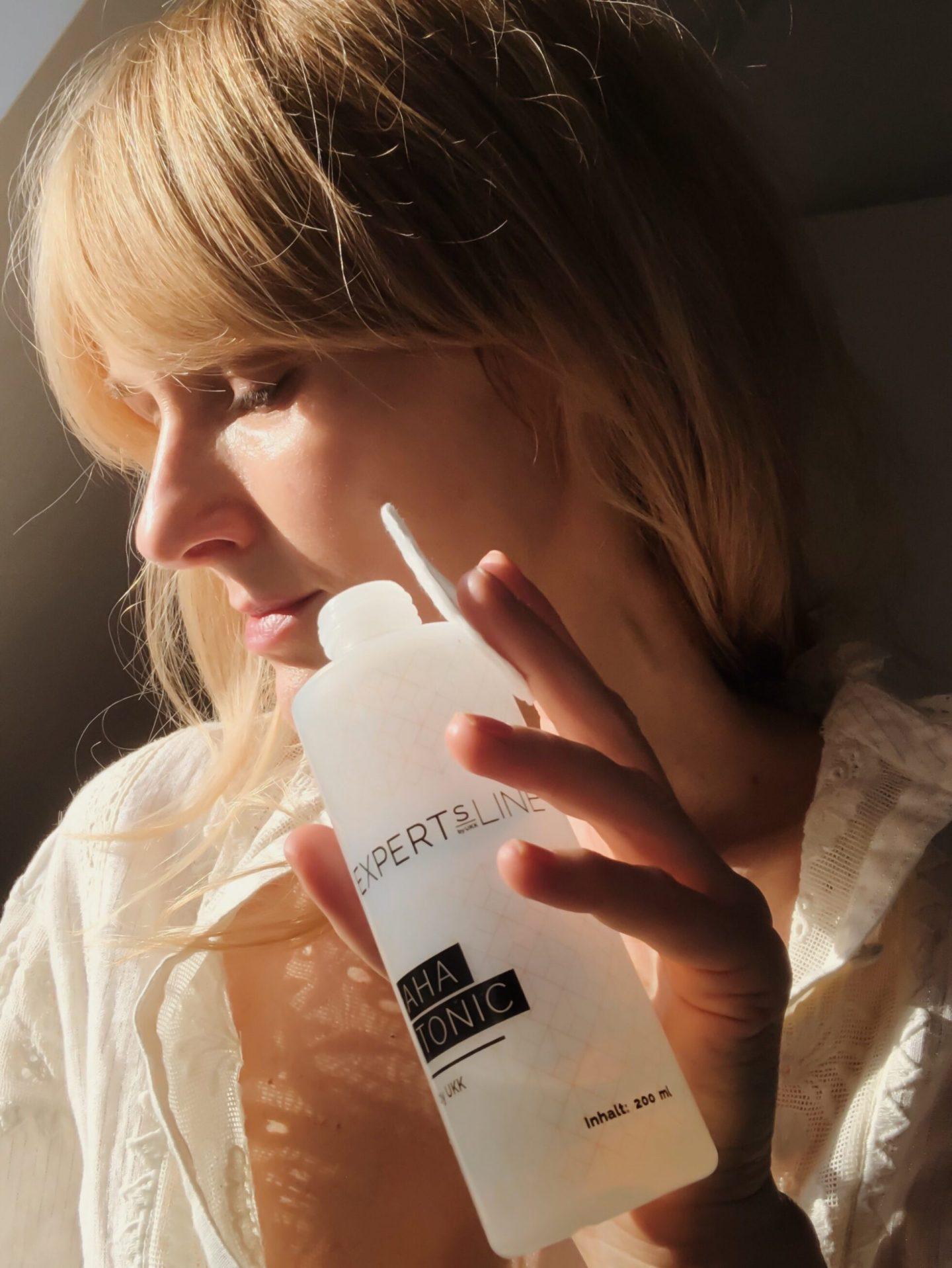 Fruchtsäure Peeling -Unterschiede - Expertsline AHA Tonic - Beauty Blog über 40