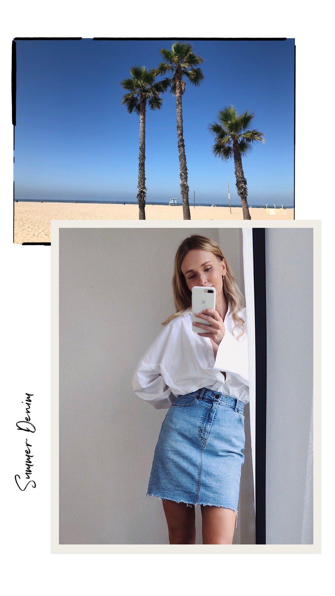 Summer-Denim-weisse-Bluse-Sommer-Urlaub