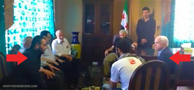 john-mccain-meets-with-syrian-rebels-isis-islamic-state-caliph-ibrahim-al-qaeda-2013-secret-meeting