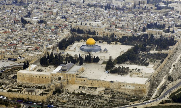 east-jerusalem-temple-mount-israel-palestine-abbas-netanyahu-dome-rock-muslims-peace-treaty-7-years-daniel