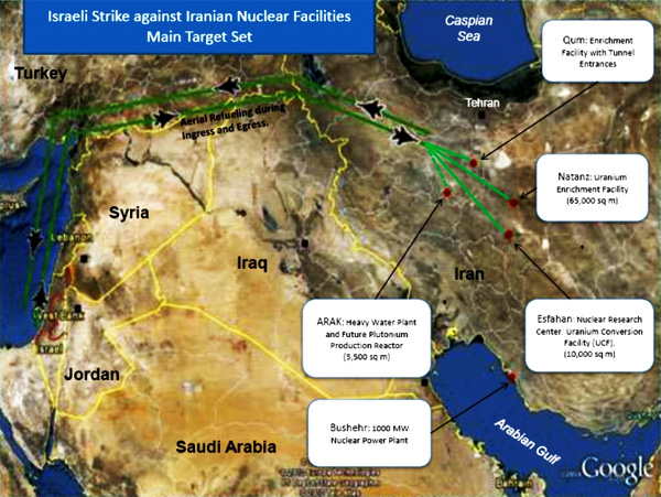 israel-idf-planning-to-strike-iranian-nuclear-facilities-october-2013