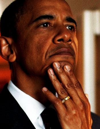 Obama Ring No God But Allah