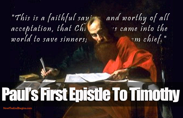 The first epistle of paul to timothy essay