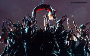 madonna-2015-grammys-hanging-over-a-pit-of-demons-satanism-in-america