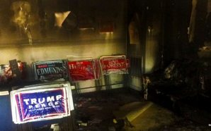republican-headquarters-in-charlotte-north-carolina-firebombed-by-democrats