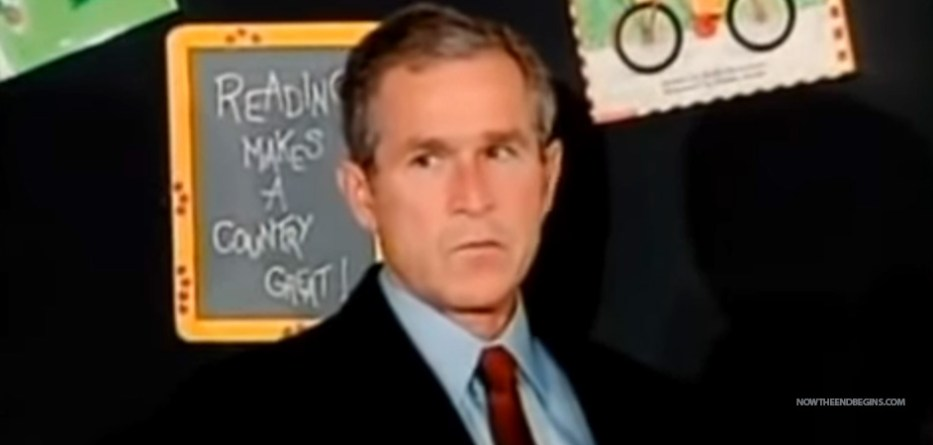 george-bush-puppet-advanced-knowledge-911-attacks-twin-towers