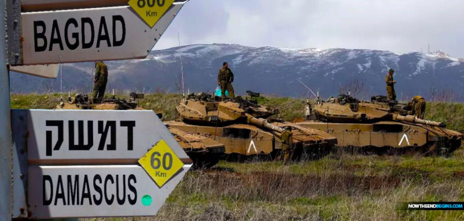 israel-vows-from-jerusalaem-to-destroy-iranian-positions-syria-damascus-gloan-heights