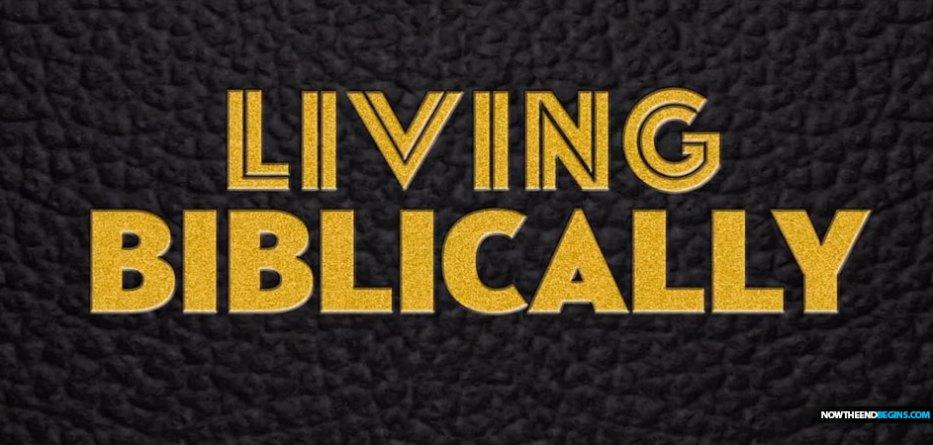 living-biblically-mocks-christianity-bible-god-jesus-christ-cbs-television
