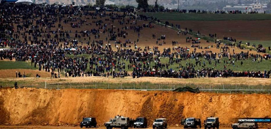 israeli-army-deploys-troops-gaza-border-us-embassy-opening-riots