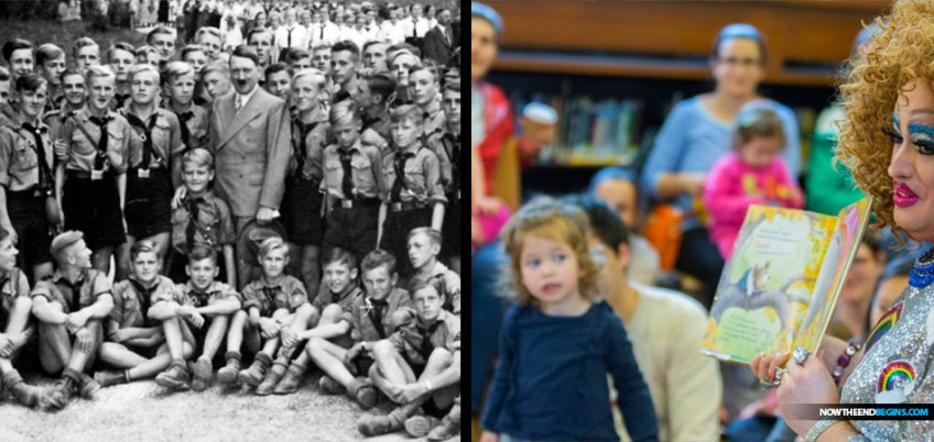 drag-queen-story-hour-indoctrinates-children-lgbtq-perversion-hitler-youth
