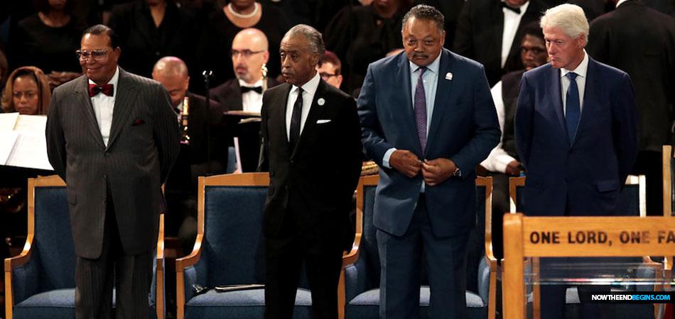 louis-farrakhan-bill-clinton-jesse-jackson-al-sharpton-aretha-franklin-funeral