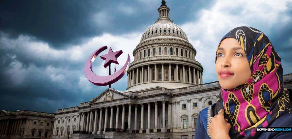 Ilhan-Omar-pushing-muslim-sharia-law-progressive-agenda-congress