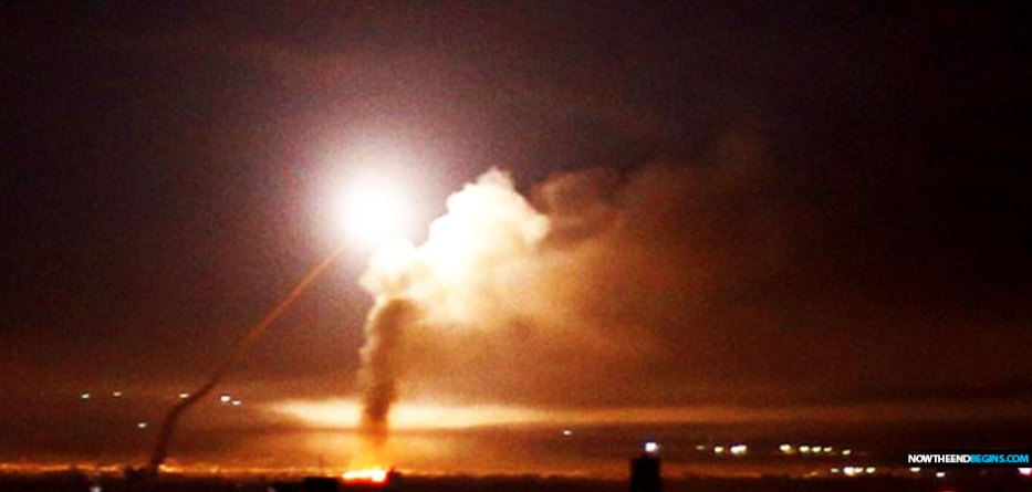 israel-fires-arrow-system-syria-missile-idf-destroys-weapons-warehouse-damascus