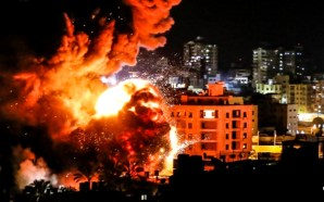 israel-attacks-hamas-headquarters-gaza-strip-idf