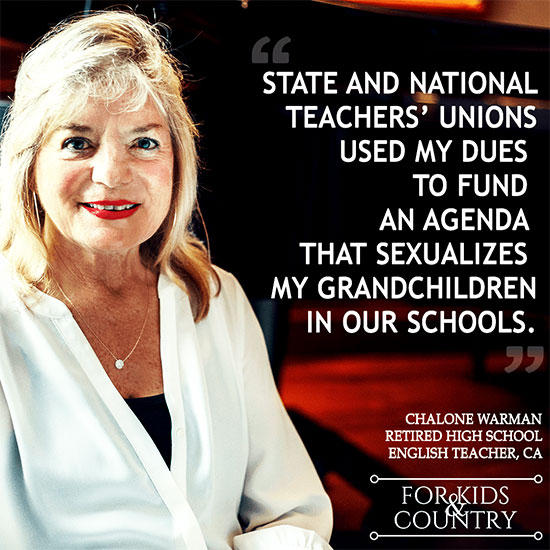 Teacher Warns Unions Are Working With Far-Left Groups To Push And Fund Their Radical Agenda