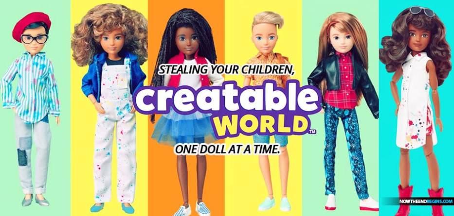 'A Doll For Everyone': Meet Mattel's Gender-Neutral Doll