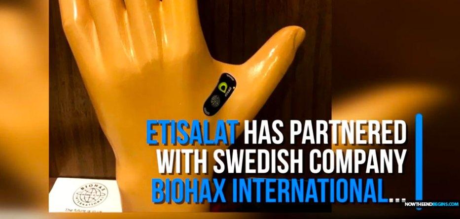 Etisalat unveils microchip implant at Gitex Technology Week in Dubai