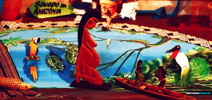"""""""Pachamama"""" has become the new insider Catholic version of """"Who am I to judge?"""" meaning a single word or phrase which, immediately upon utterance in front of another Catholic, whatever comes across their face will tell you everything you need to know about where he or she stands."""