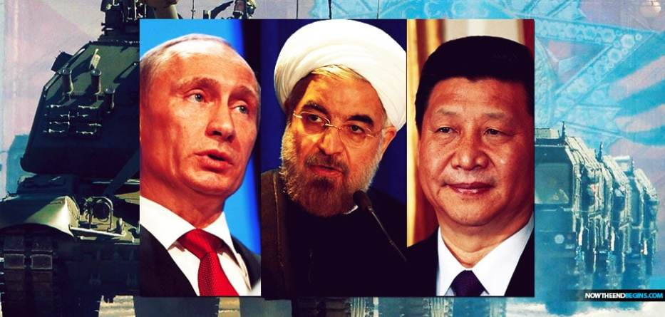 China, Russia and Iran will hold joint naval drills starting Friday in the Gulf of Oman, Beijing and Tehran said, at a time of heightened tensions since the US withdrew from a landmark nuclear deal with Tehran.