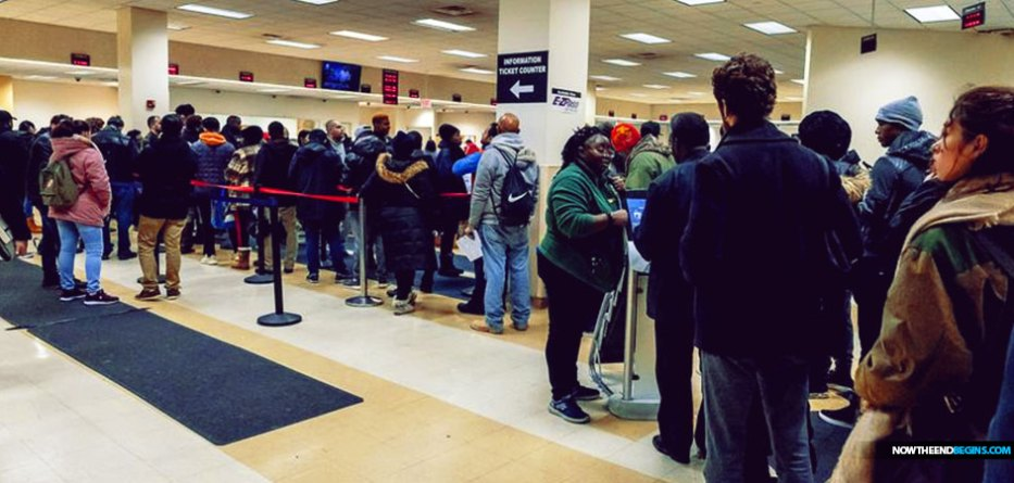 Illegal Immigrants Flood New York Motor Vehicle Offices First Day Of Green Light Law