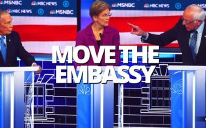 Would Comrade Sanders, Mini Mike Bloomberg or Pocahontas Warren move the US embassy back to Tel Aviv from Jerusalem?