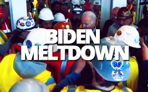 Detroit workers will tell you that auto factory floors are tough, but Joe Biden wasn't backing down when a worker came at him on a factory tour Tuesday morning.