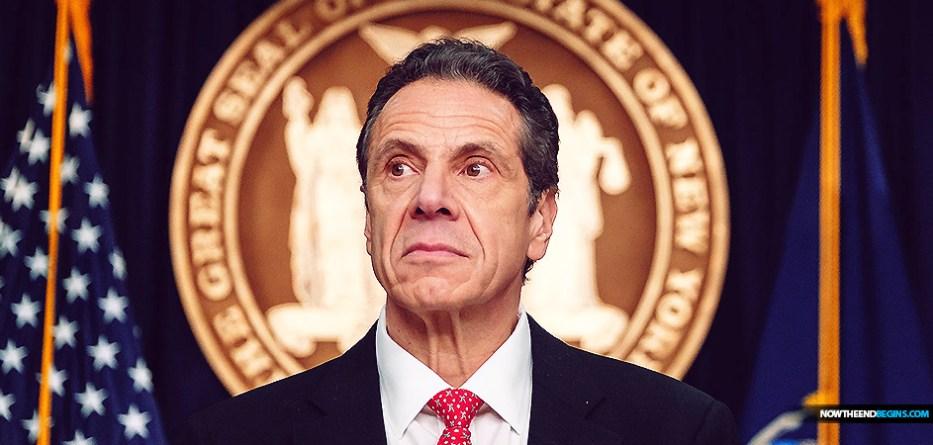 New York Governor Andrew Cuomo coronavirus panic after due date abortion bill