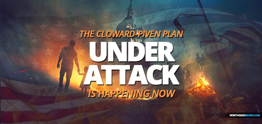 The COVID-19 coronavirus outbreak is being used to destroy the American economy by implementing the Cloward–Piven strategy and Rules For Radical by Saul Alinsky for the New World Order.