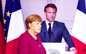 German Chancellor Angela Merkel and French President Emmanuel Macron announced the proposal on Monday to create a coronabond