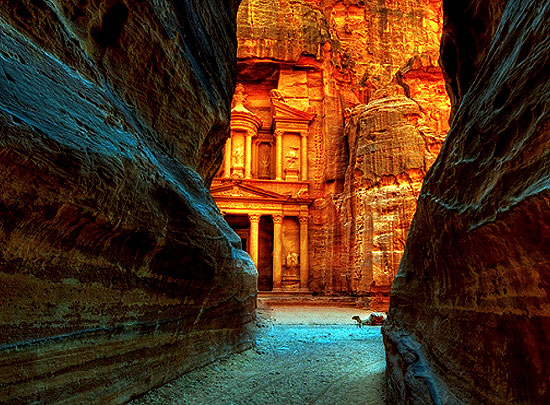 Red Rock City Of Selah Petra