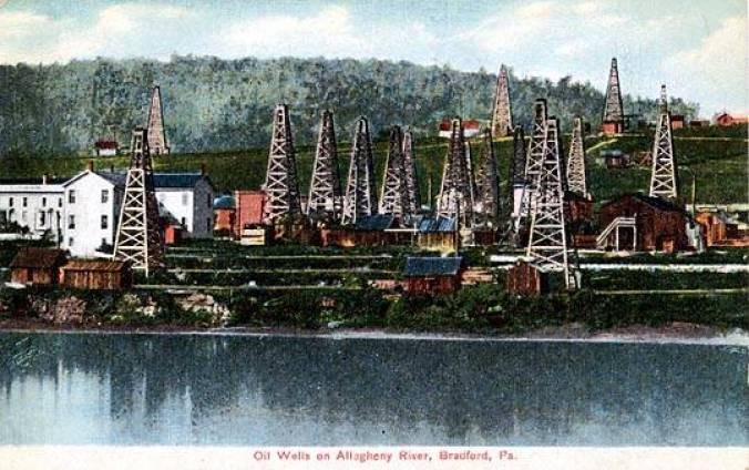 Oil Wells on Allegheny River