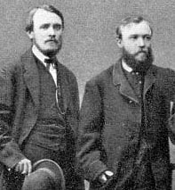 Henry Phipps, left, and Andrew Carnegie