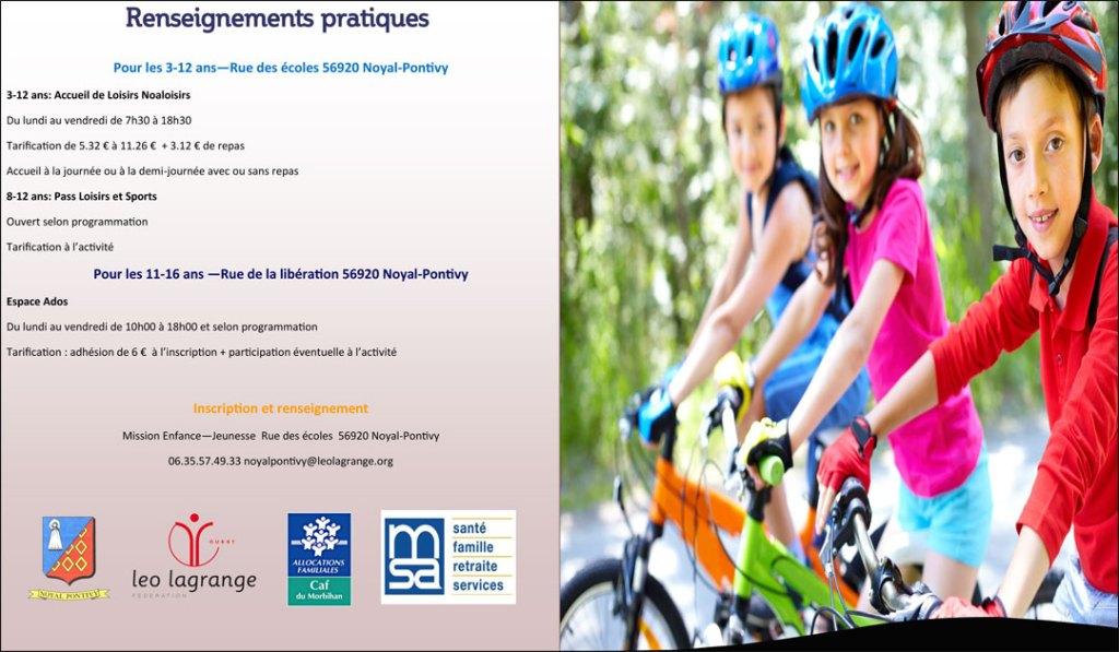 PROGRAMME SERVICE ENFANCE JEUNESSE Vacances Printemps 2018