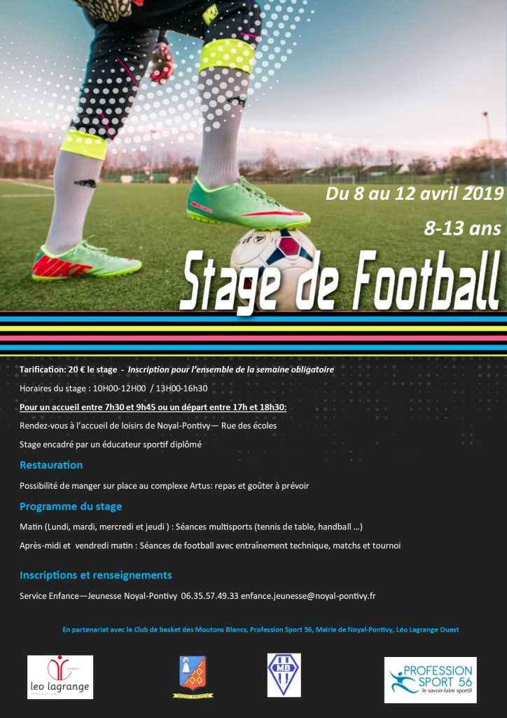 Stage foot Multisports Avril 2019