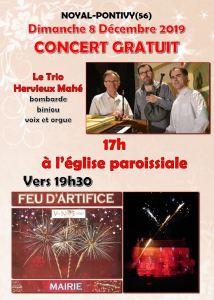Concert gratuit du Trio Hervieux-Mahé