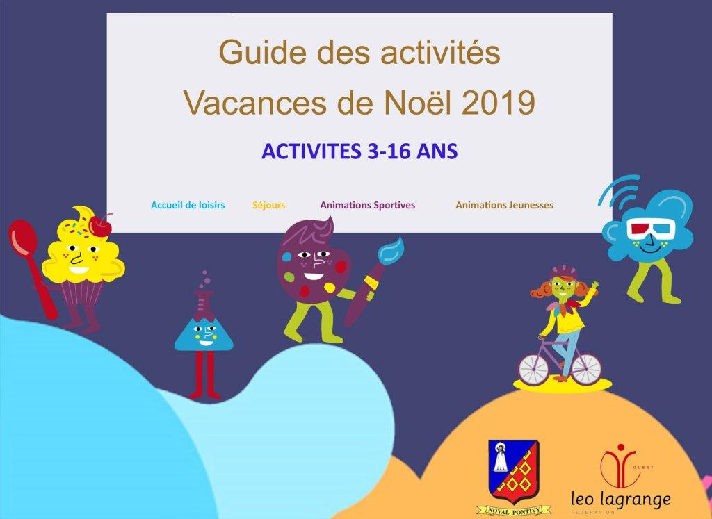 Guide Vacances de Noel 2019