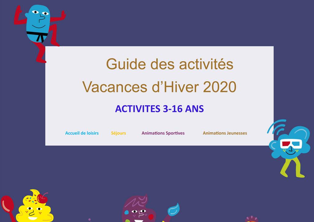 Programme des Vacances hiver 2020